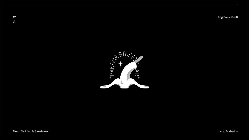 高辨识度!14款细腻剪影Logo设计