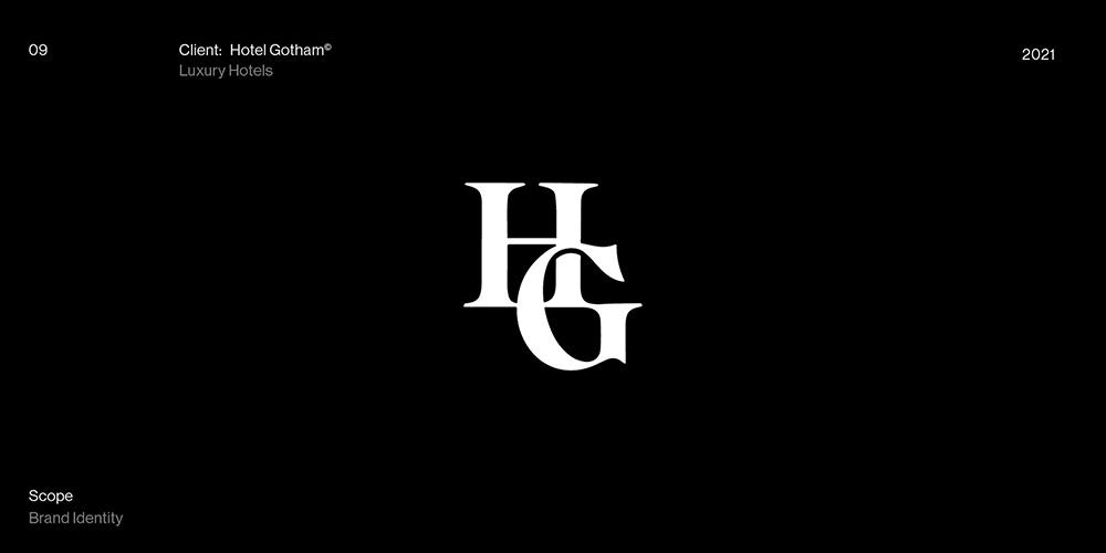 简洁灵动!18款现代大气字体设计