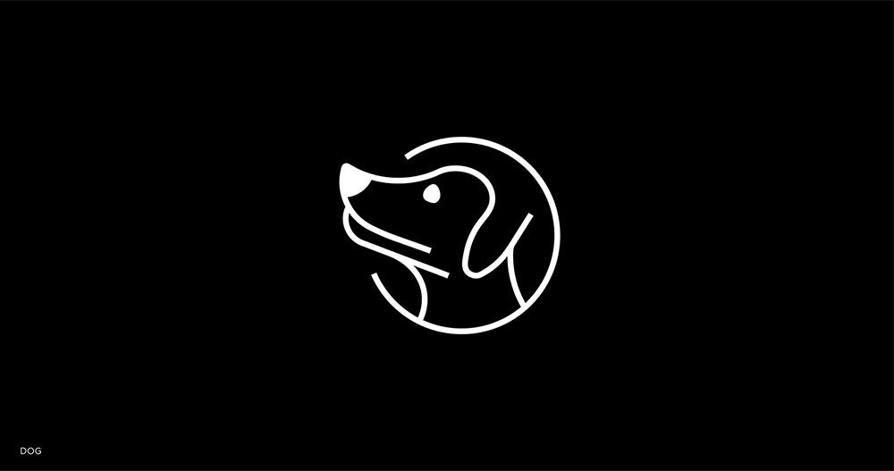 灵动生命!18款简笔动物Logo设计