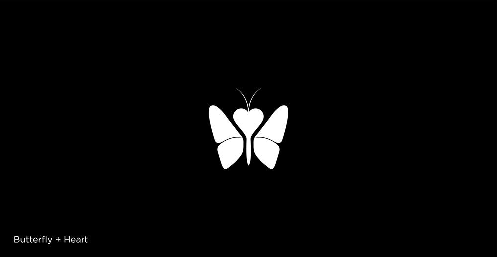 生动视觉!14款极简单色Logo设计