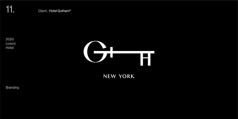 灵动极简!18款现代大气字体设计