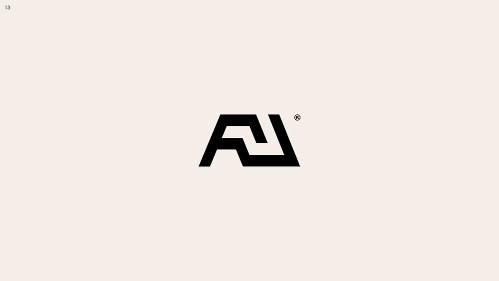 独特别致!14款趣味剪影Logo设计