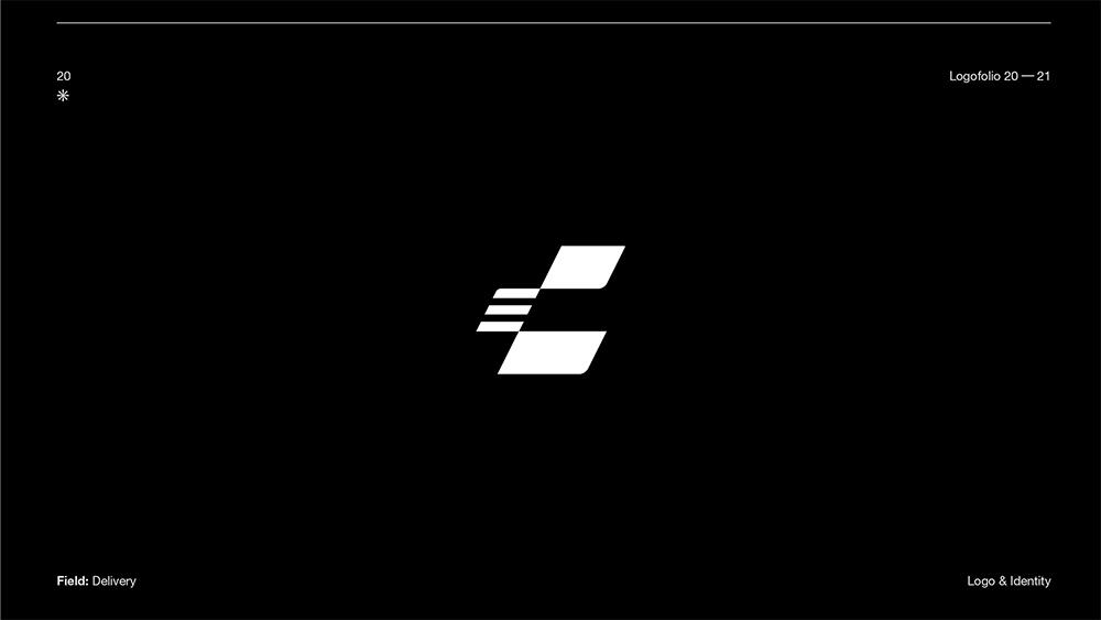 创意出众!14款趣味单色Logo设计
