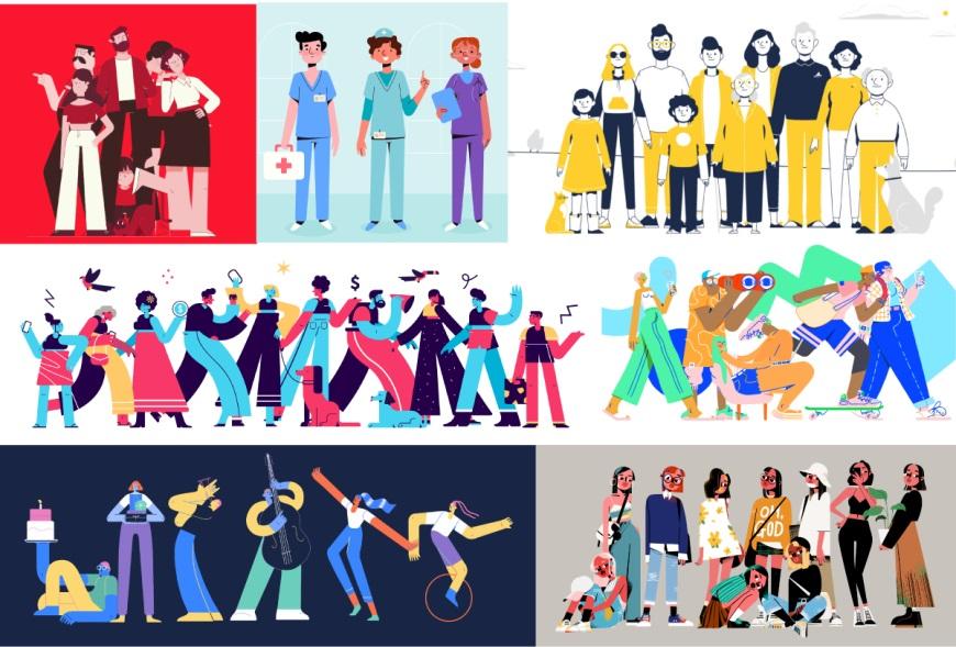 设计思路教程!如何创建灵活的个人插画组件库?