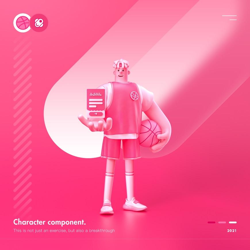 C4D教程!带你探索人物组件化!