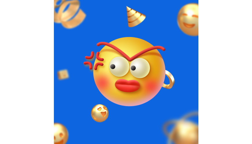 PS教程!手把手教你制作可爱3D表情包!