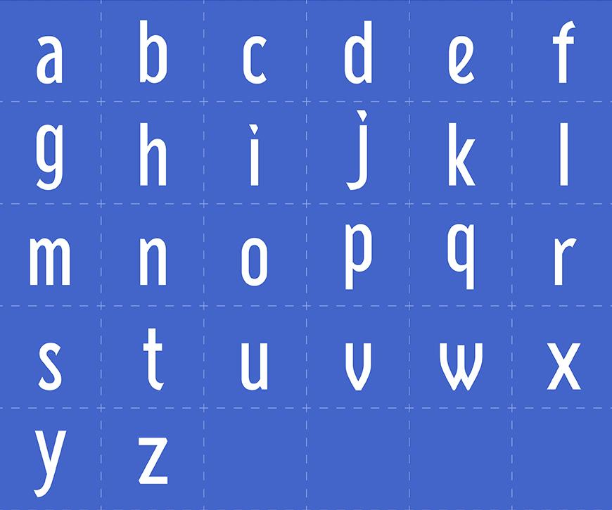 免费字体下载!一款纤细挺拔复古风格字体—廻想体