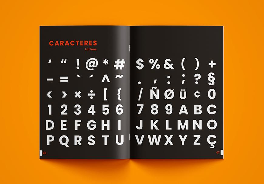 免费字体下载!一款几何风格9种字重的英文字体—Poppins