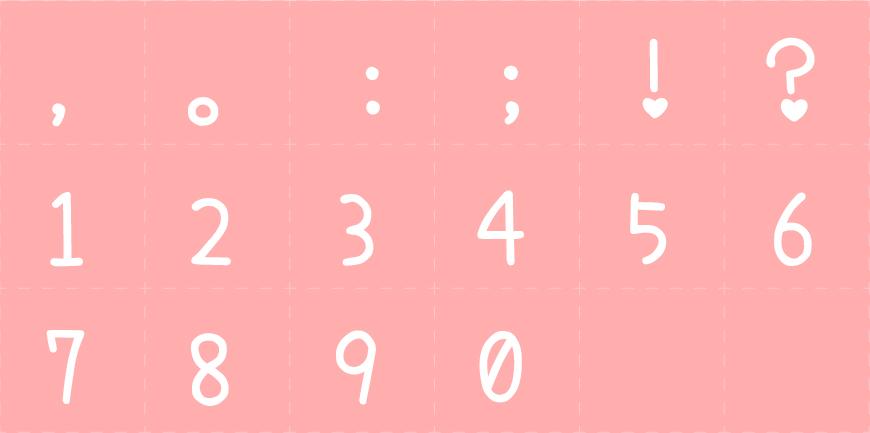免费字体下载!一款可爱呆萌轻松圆润的字体—日本濑户可爱风