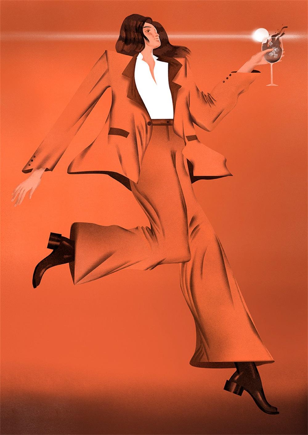 新流行趋势!插画家 Masha Foya的海报插画