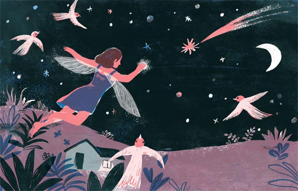 东方美!中国诗词儿童读物插图