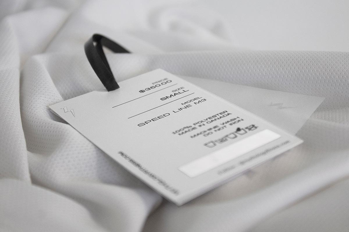 抽象极简!运动服装品牌VI设计