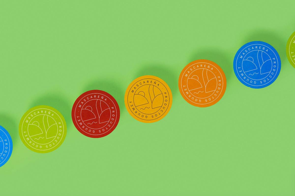 鲜艳色彩!食品品牌VI设计
