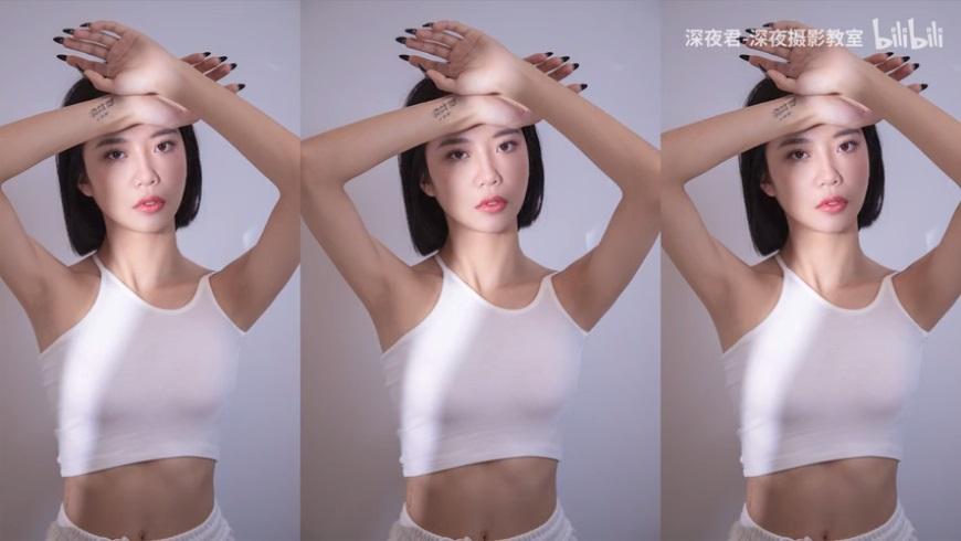 摄影教程!用3种布光方式拍出高级感人像