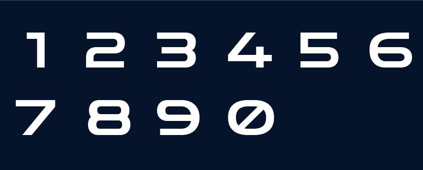 免费字体下载!一款充满科幻感重量十足的英文字体—Zen Dots