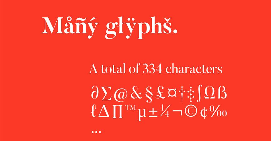 免費字體下載!一款氣質優雅的經典襯線英文字體—Butler