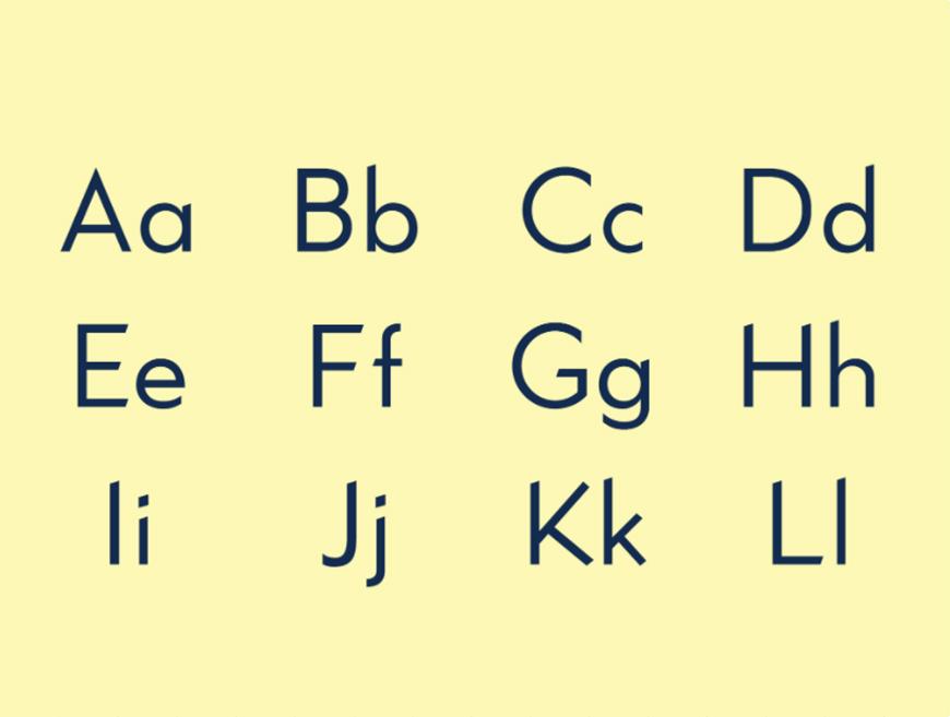 免费字体下载!一款极简锋利气质独特的英文字体—Kano