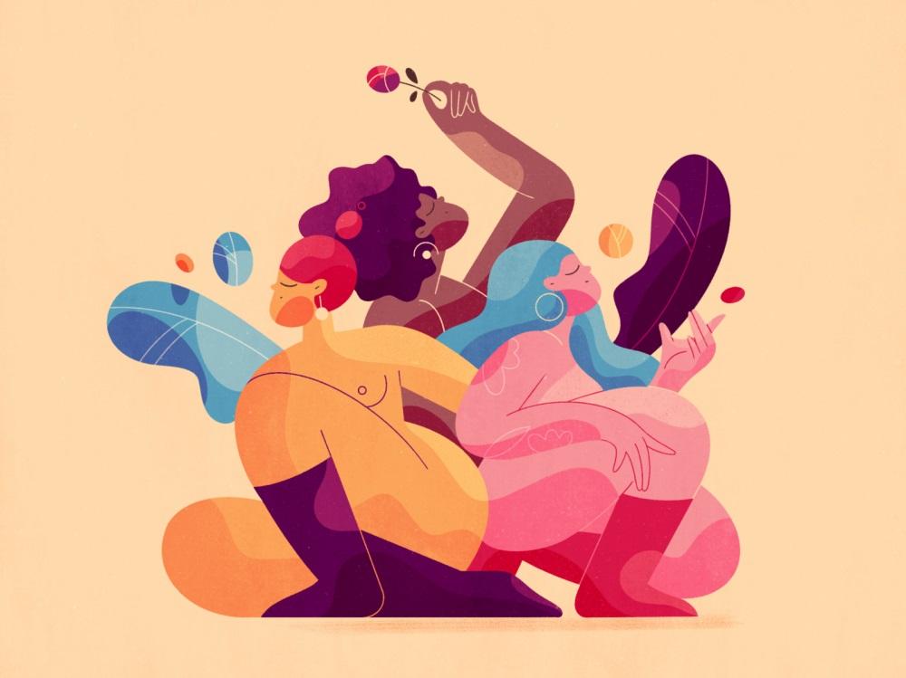 告别呆板!9款充满趣味性的扁平插画