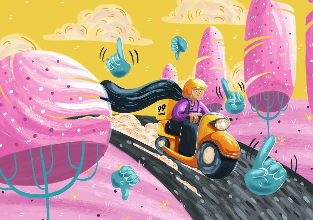 12款多彩明丽的儿童元素插图