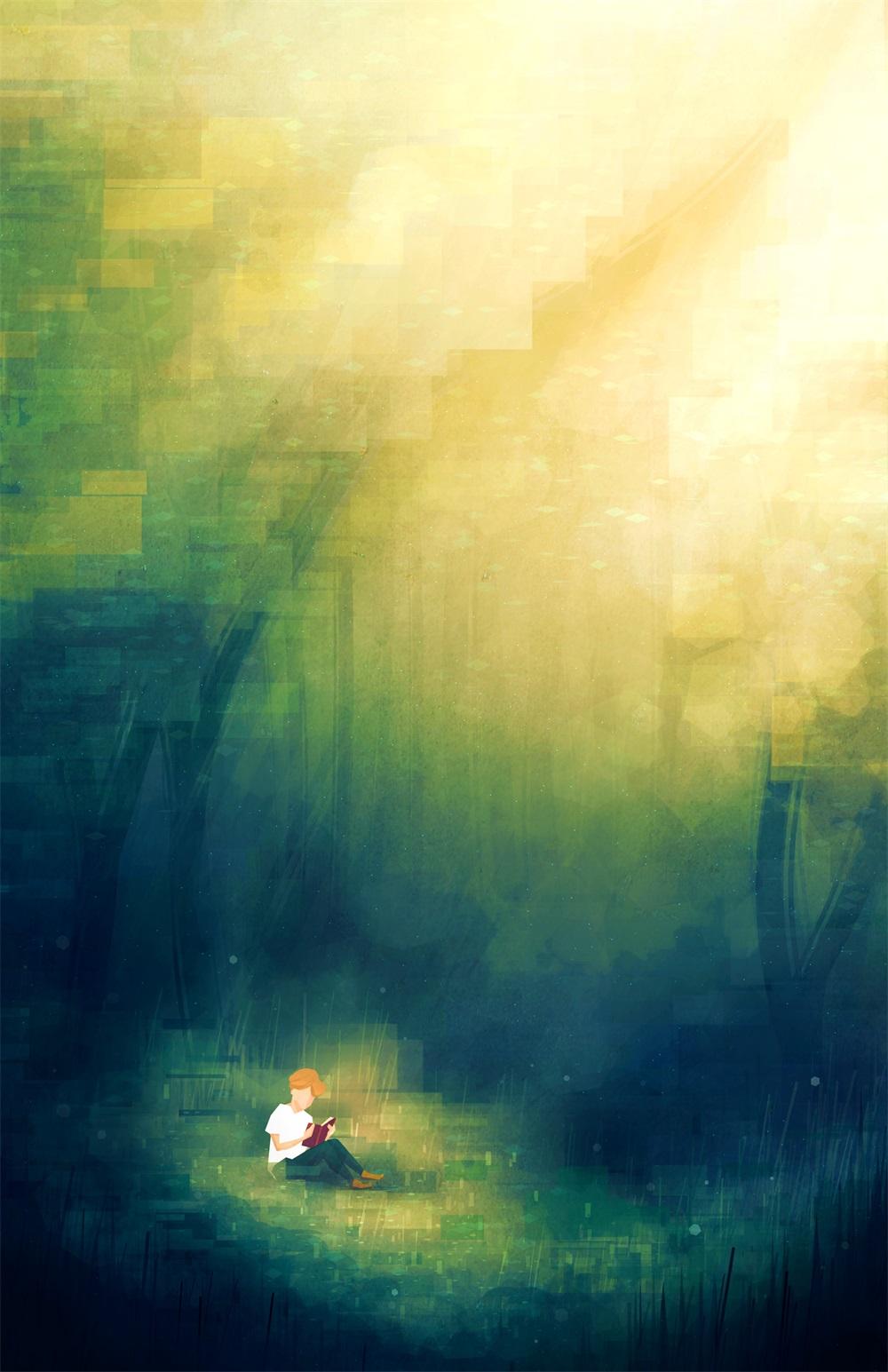 都市日暮!16张霓虹城市插画作品