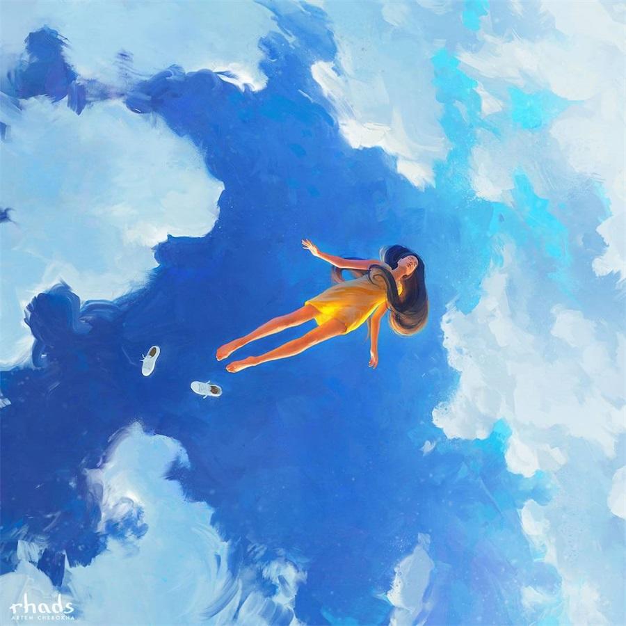 艺术家Artem Chebokha的超现实世界
