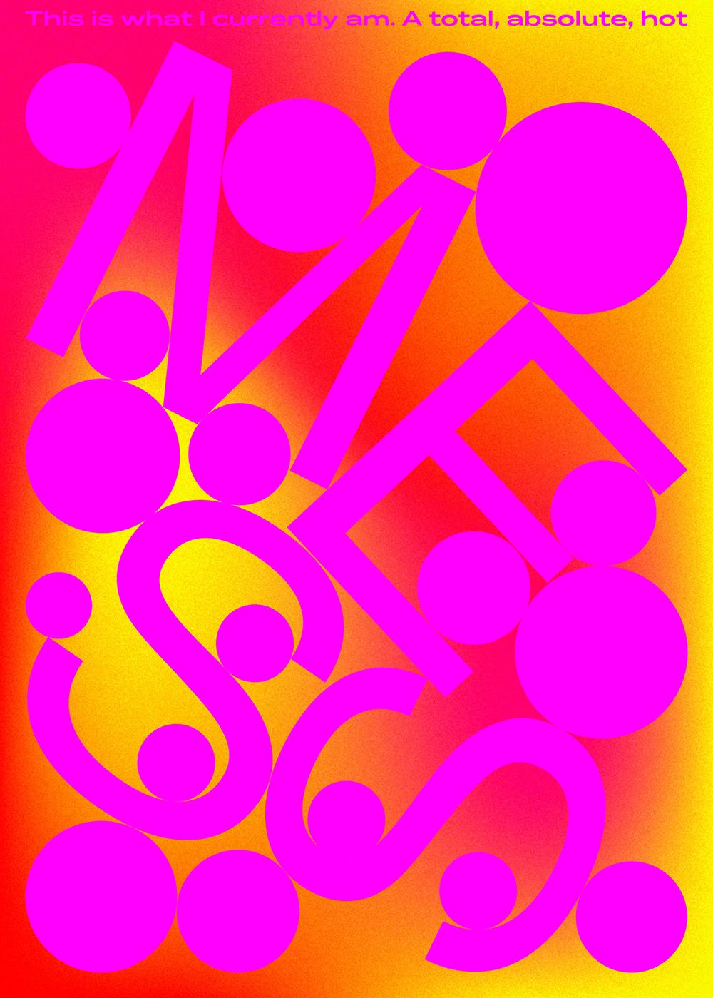 噪点质感!12张Panos Tsironis色彩海报设计