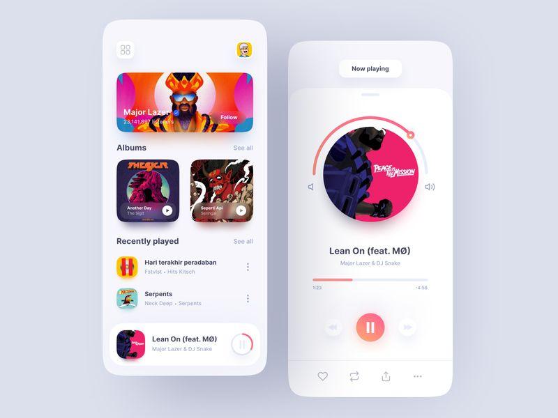 12组音乐播放器App