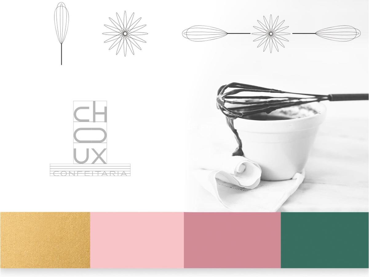 精致现代!烘焙糕点品牌VI设计