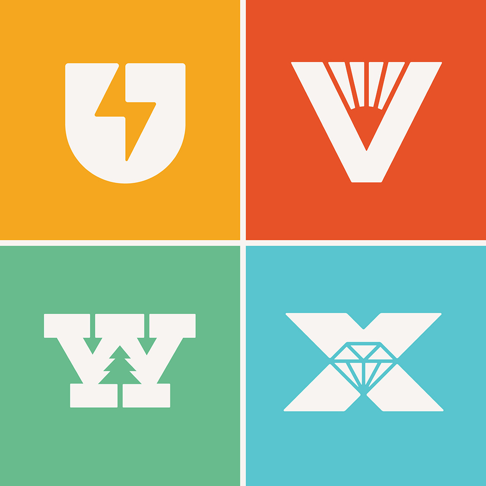 平面构成!14款趣味创意字体设计