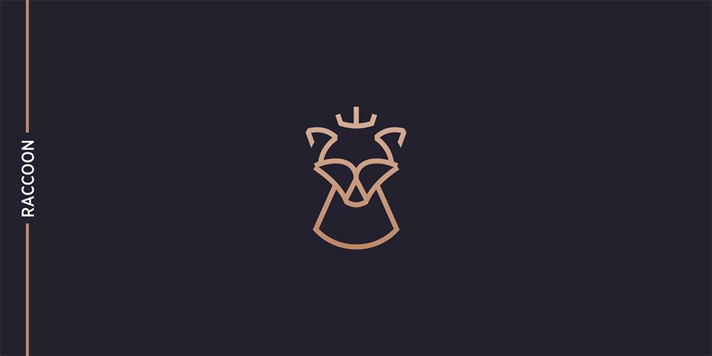 金色线条!12款品味高级Logo设计