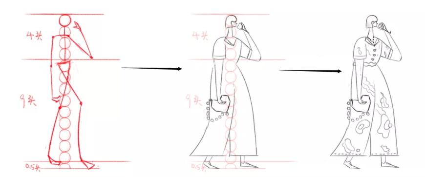 手绘教程!粉蹭肌理质感人物插画教程(附专用笔刷)