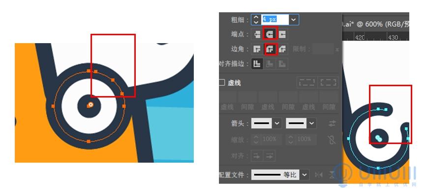 AI教程!简单的卡通徽章插画如何绘制?手把手教会你!