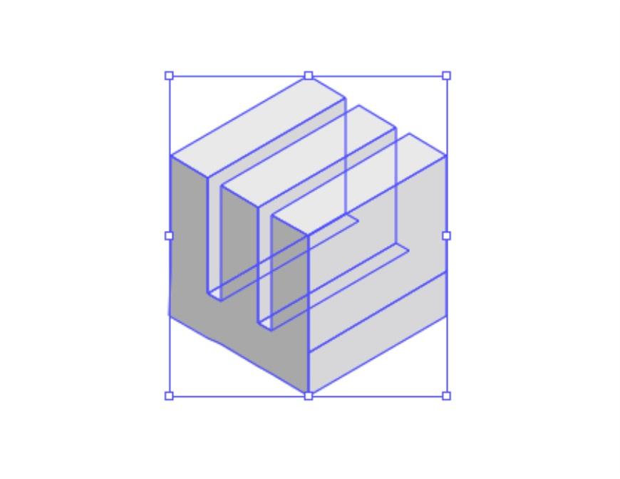 这LOGO怎么做?第3期-用3D效果直接生成立体图形
