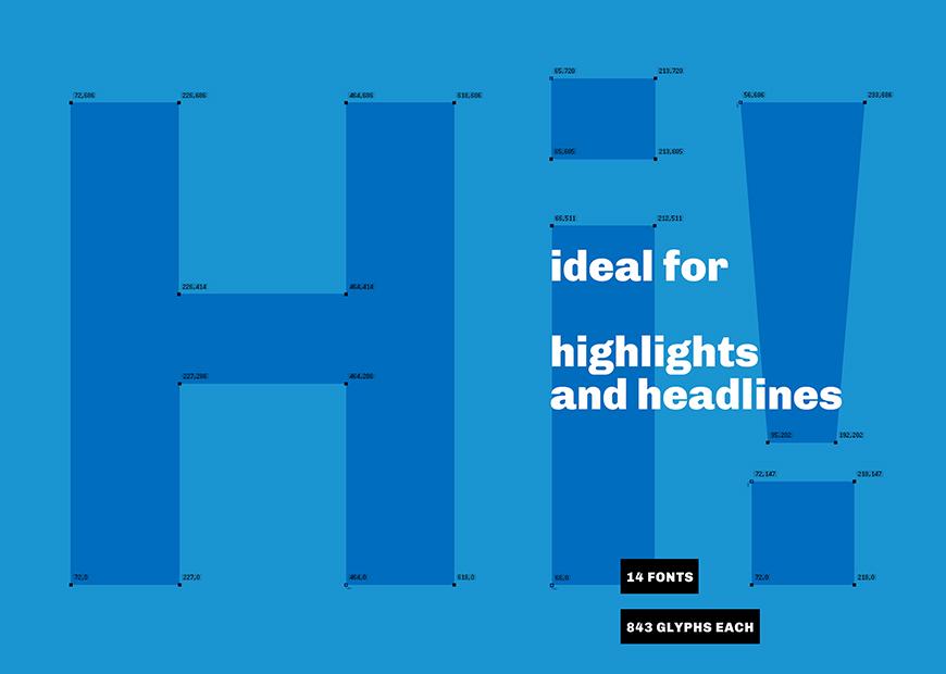 免费字体下载!一款优雅与力量并存的无衬线英文字体—Chivo