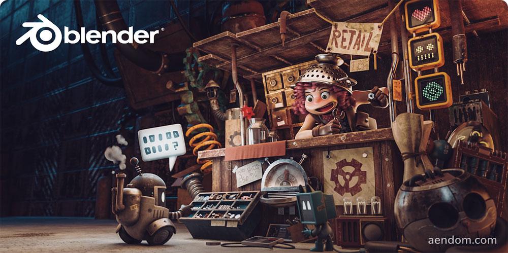 Blender零基础教程!从零上手免费开源的3D软件(含软件下载)