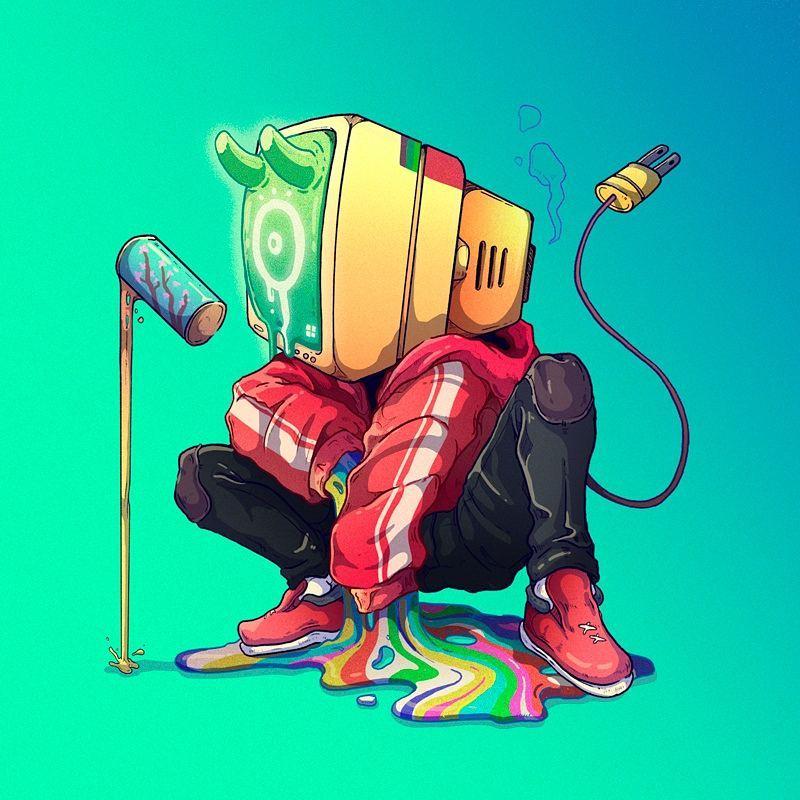 14张秘鲁MUTE 插画角色设计