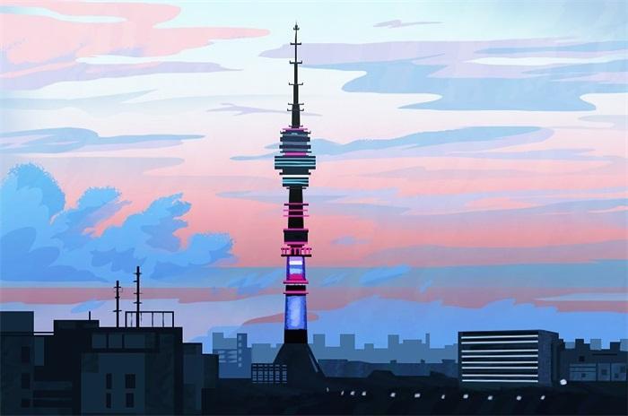 10款色彩迷人的景观插画