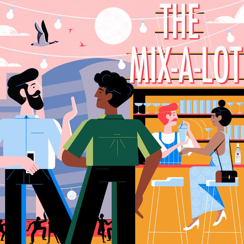 12款图形和编辑叙事类扁平插画