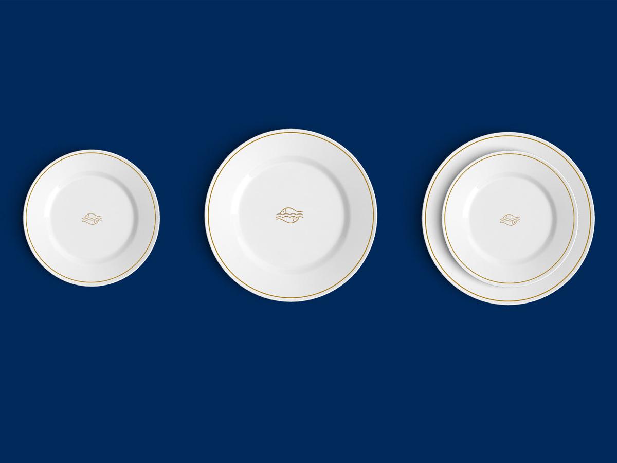 现代和亲民感!海鲜餐厅品牌VI设计