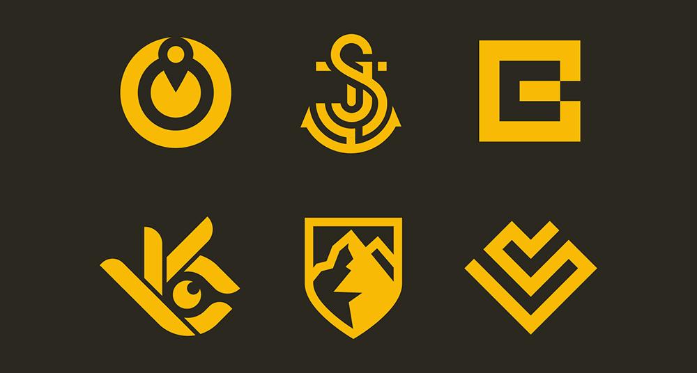 创意无限!78款简洁图标Logo设计