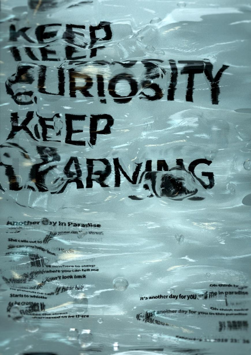 C4D教程!冰水混合效果海报的制作思路