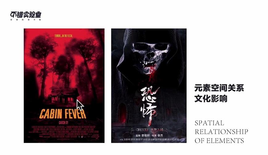 平面设计教程!什么是氛围感?看完这4组恐怖片海报对比就知道了