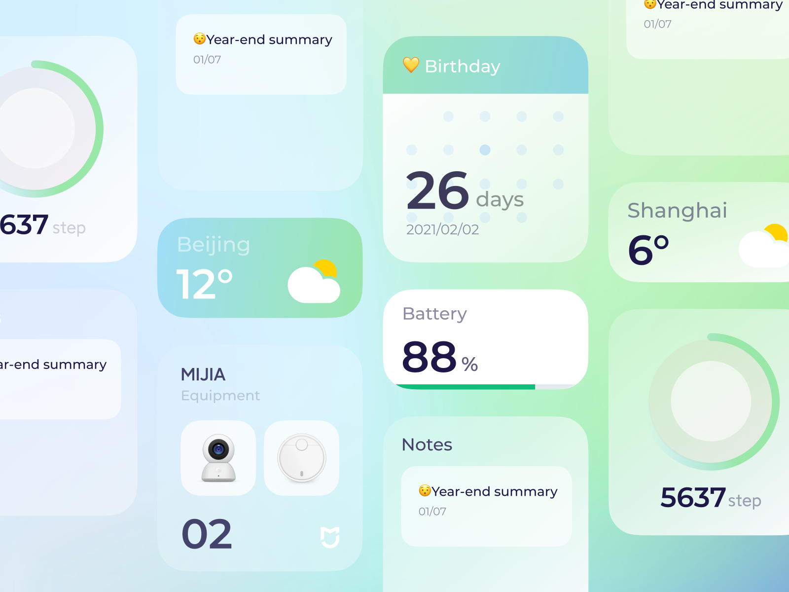 设计小细节!12组UI组件设计灵感