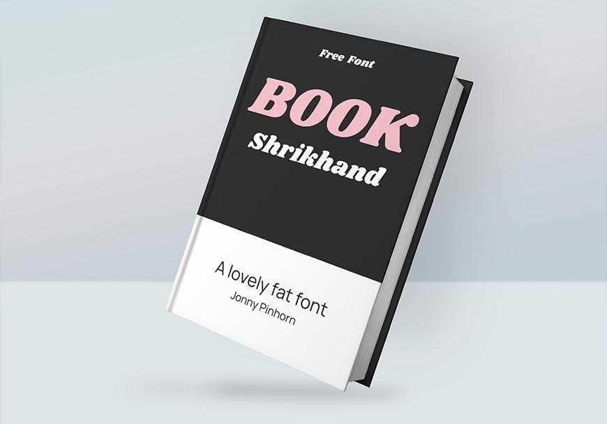 免费字体下载!一款活泼可爱软糯气息的英文字体—Shrikhand