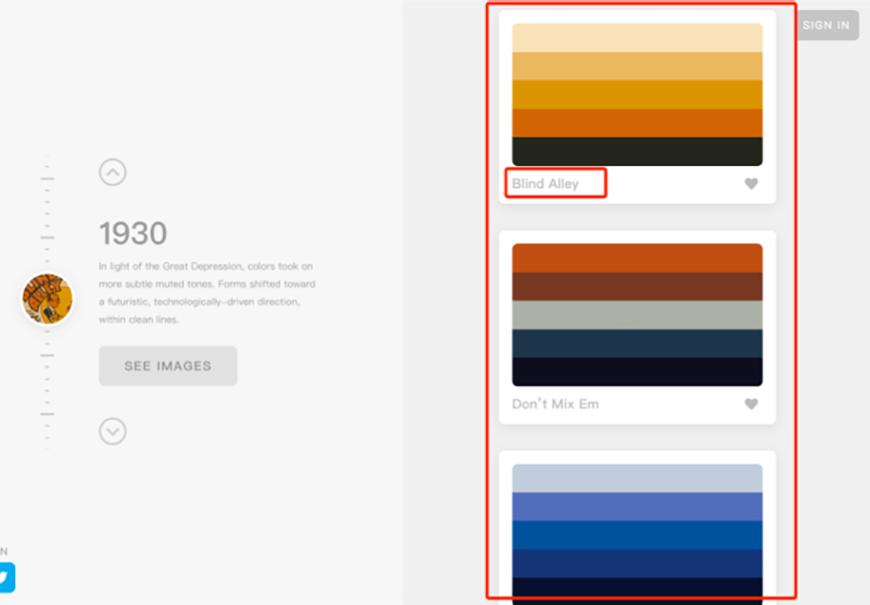 超好用的配色神器ColorLeap!两步获取复古配色