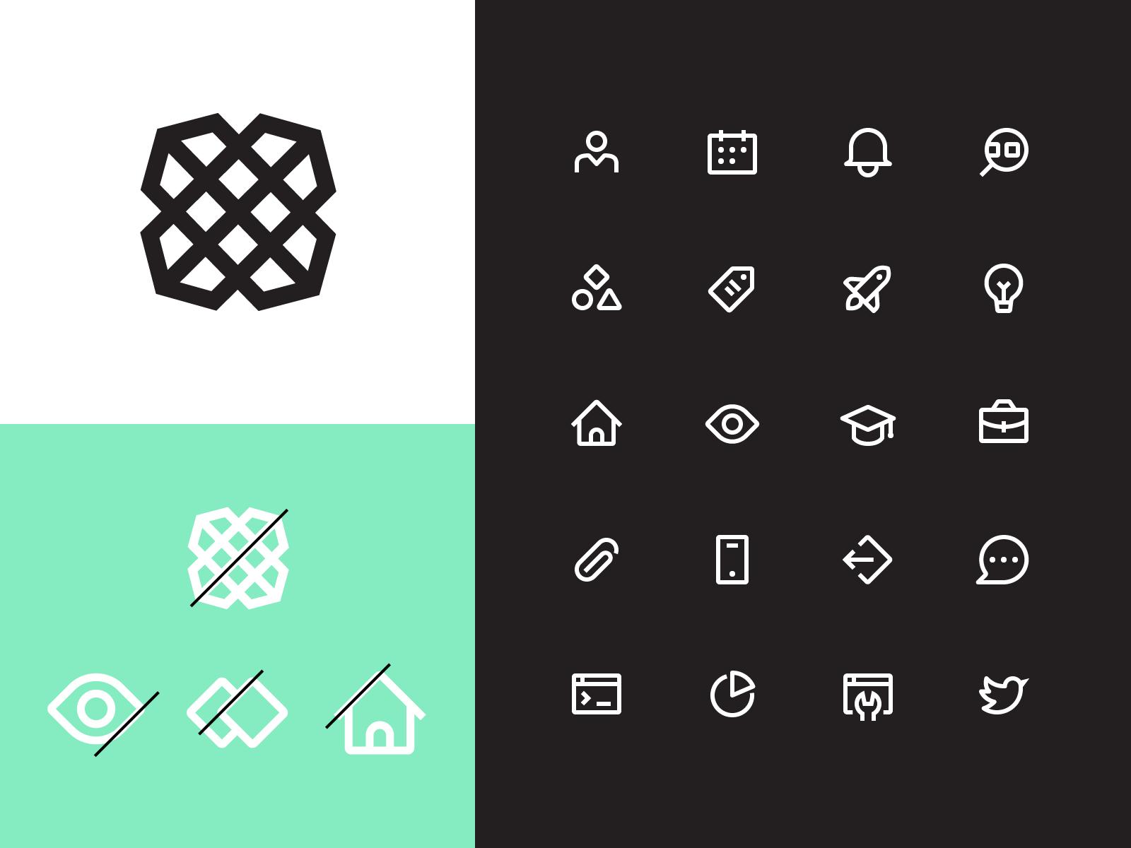 简洁感!12组线性Icon设计灵感