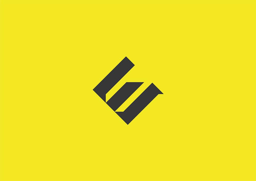 创意单色!16款解构几何Logo设计